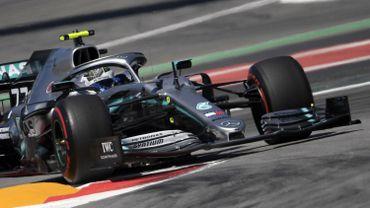 Bottas toujours le plus rapide à la 2e séance d'essais libres
