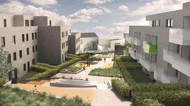 Le projet de logements qui devrait remplacer l'Eupen Plaza