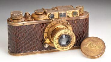 Ce Leica II Mod. D Luxus est estimé entre 250.000 et 300.000 euros