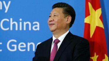 Le président chinois Xi Jinping lors d'une cérémonie aux Nations unies le 18 janvier 2017