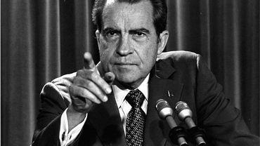 Nixon et le Watergate dans Retour aux sources