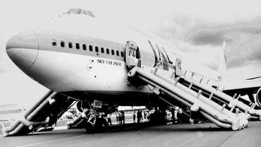 Un Boeing 747 de la Sabena va être transformer en restaurant