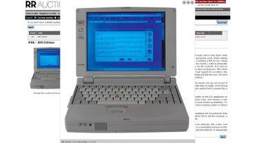L'ordinateur du premier courriel de Bill Clinton aux enchères