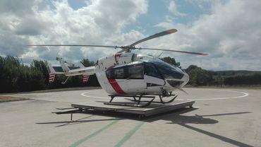 L'hélicoptère du CMH ne peut plus se poser où il veut en Wallonie