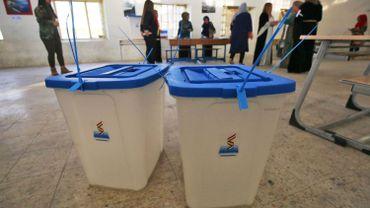 Des urnes préparées pour le référendum d'indépendance du Kurdistan
