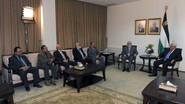 La rencontre entre Mahmoud Abbas et les dirigeants du Hamas