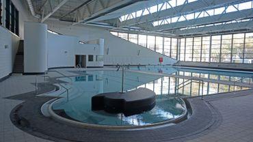Une vue intérieure des nouveaux bains publics liégeois
