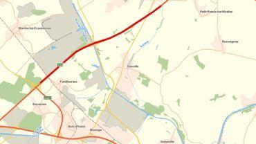 Un tronçon important de l'autoroute E19 va être rendu à la circulation en deux temps à Seneffe