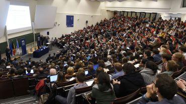 Chaque année la Belgique accueillede plus en plus d'étudiants horsunion européenne.