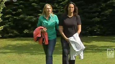 Ruth Sverdloff et Cindy Meul ont essuyé l'agression et les insultes antisémites d'un voisin, à Aartselaar
