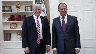 Trump a révélé des informations classifiées au chef de la diplomatie russe