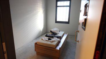Illustration: une cellule d'isolement dans la prison de Wortel