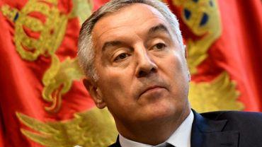 Le président du Montenegro, Milo Djukanovic, lors d'un entretien avec l'AFP le 10 février 2020 à Podgorica