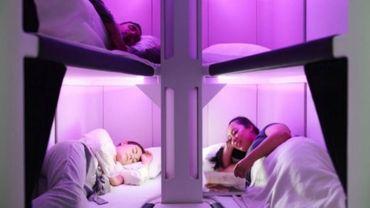 Air New Zealand travaille sur un prototype de couchettes pour la classe économique.