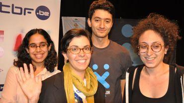Les vainqueurs de l'hackXplor 2015: Les Célines