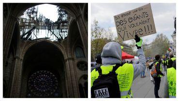 Polémique en France autour des dons pour Notre-Dame: et combien pour la misère sociale?