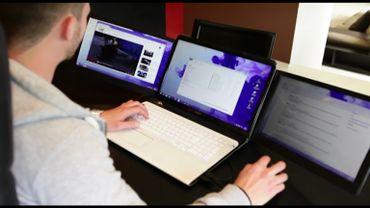 Sliden'Joy : le triple-écran carolo pour ordinateur portable verra-t-il finalement le jour?