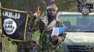 Capture d'écran réalisée le 2 octobre 2014 d'une vidéo de Boko Haram montrant son chef, Abubakar Shekau, en train de délivrer un message