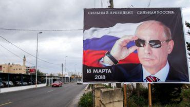 Plus de deux Russes sur trois veulent voter Poutine, selon un sondage