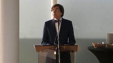 Le bourgmestre Elio Di Rupo (PS) a eu des propos teintés d'une certaine amertume