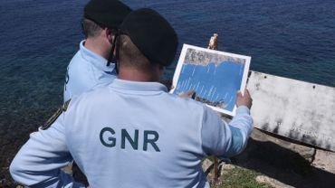 Des officiers portugais de Frontex patrouillant sur l'île de Lesbos (Grèce)