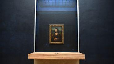 La Joconde au Louvre