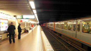 """La station de métro """"gare centrale"""" sera rénovée en septembre 2020."""