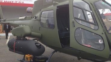 Un système de guidage pour roquette (lancé par la FN) a notamment été présenté au salon de l'armement qui se tient à Paris.