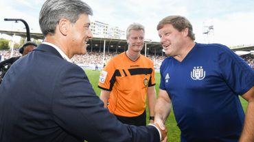"""Mazzu et Vanhaezebrouck d'accord pour dire qu'""""Anderlecht n'était pas meilleur que Charleroi"""""""