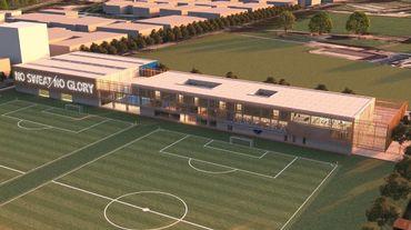 Le Club Bruges débutera début mai la construction d'un nouveau complexe d'entraînement