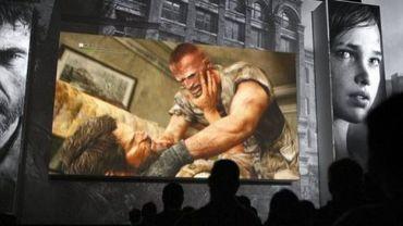 """Présentation du jeu vidéo """"The Last of Us"""" lors d'une conférence de presse de Sony, le 4 juin 2012 à Los Angeles"""