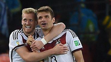 Schürrle et Müller, le buteur et le passeur