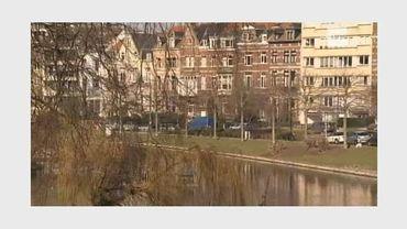 Beaucoup d'exilés fiscaux français sont installés dans le quartier des étangs d'Ixelles