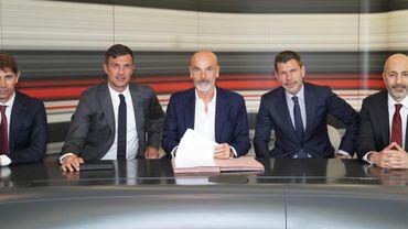 Stefano Pioli nommé entraîneur de l'AC Milan