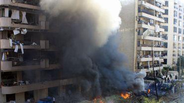 Double attentat devant l'ambassade d'Iranà Beyrouth