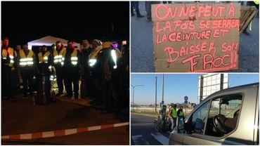Wandre, Wierde, Feluy... des citoyens bloquent des dépôts de carburants en Wallonie.