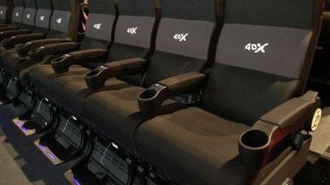 La nouvelle technologie fonctionne par bloc de quatre fauteuils et dans lesquels un haut-parleur est intégré dans chacun d'eux.