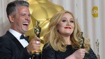 """Adele avait remporté un Oscar pour """"Skyfall"""" en 2013"""