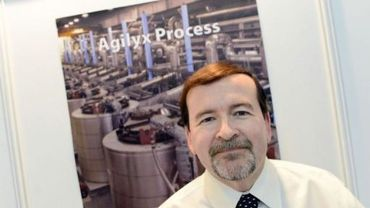 Jon Angin, le vice-président de la société Agiliyx, le 27 novembre 2012 à Lyon