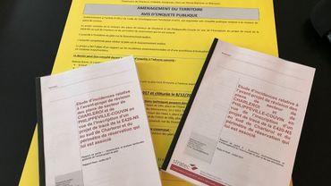 Les documents consultables pour la population concernée
