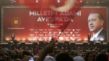 Législatives turques: Erdogan à la course aux voix en Belgique