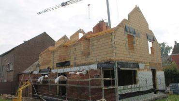 Le chantier une maison basse énergie