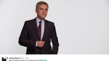 """Dans """"Spectre"""", le prochain épisode de la série James Bond, Chistopher Waltz jouera le rôle de Oberhauser."""