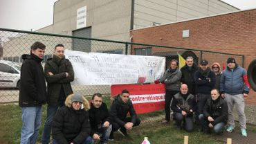 """Blocage chez Mecamold à Herstal: les ouvriers ne lâchent rien """"question de dignité"""""""