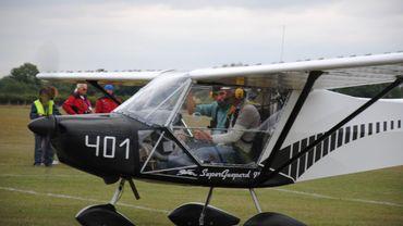 L'aérodrome de Temploux a fait une demande de permis pour accueillir des ULM
