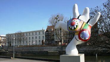 Exemple d'une Nana de Niki de Saint Phalle à Hanovre