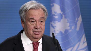 Antonio Guterres officiellement candidat à un second mandat à l'ONU
