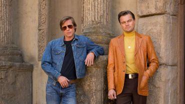"""Une première photographie du biopic """"Once Upon A Time In Hollywood"""" avec Brad Pitt et Leonardo DiCaprio avait été dévoilée cet été."""