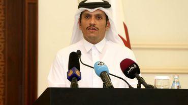 L'émir du Qatar cheikh Tamim ben Hamad Al-Thani, le 11 juillet 2017 à Doha