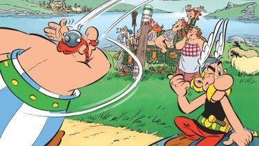 """""""Astérix chez les Pictes"""" a réalisé la plus belle performance avec 1,6 million d'exemplaires vendus en 2013"""